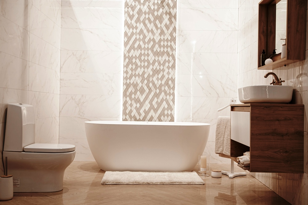 traditional and modern bathroom decor ideas